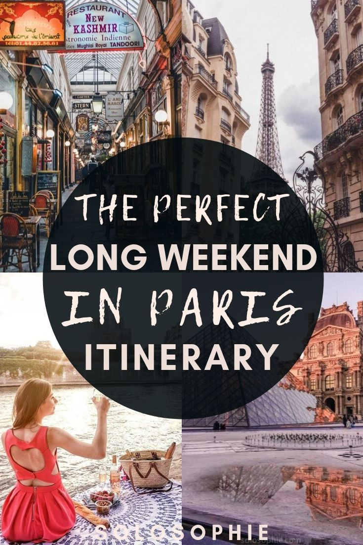 Paris travel: Looking to explore the best of Paris over a long weekend? This is your ultimate guide for things to do in Paris, including top attractions and where to stay in France!