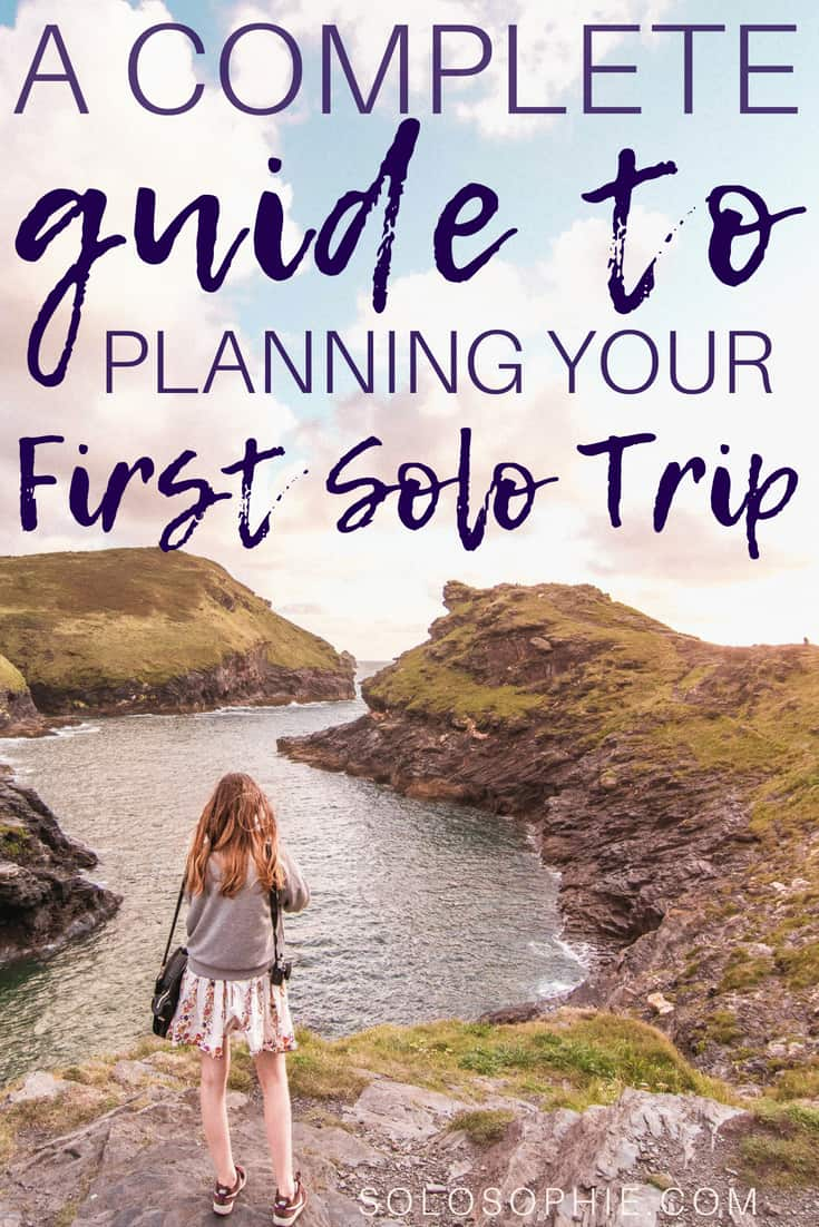 Planning your first solo trip: considerations, tips, tricks & practical advice for your first time travelling alone! Here's a step by step guide for planning a solo travel adventure (from start to destination).