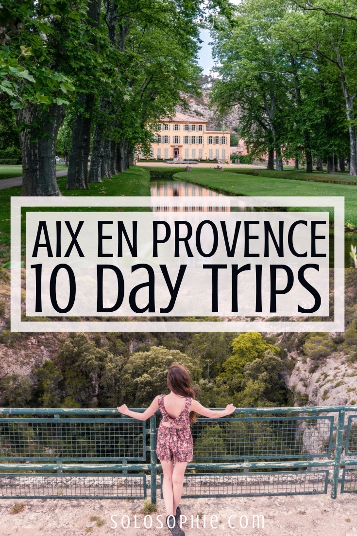 The Best Day Trips from Aix-en-Provence, Provence, Southern France: Here are the very best excursions from the beautiful city of Aix; visit Avignon, the Camargue, the Medieval villages of the Luberon, and the Provence Lavender fields!