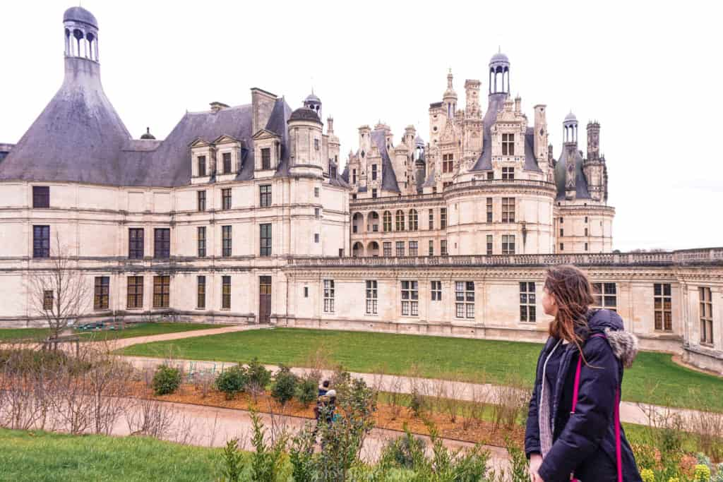 Visiting Château de Chambord; Inspired by Leonardo da Vinci: Chateau de Chambord is the largest castle in the Loire Valley. 16th-century French Renaissance/ Gothic/ Medieval architecture.