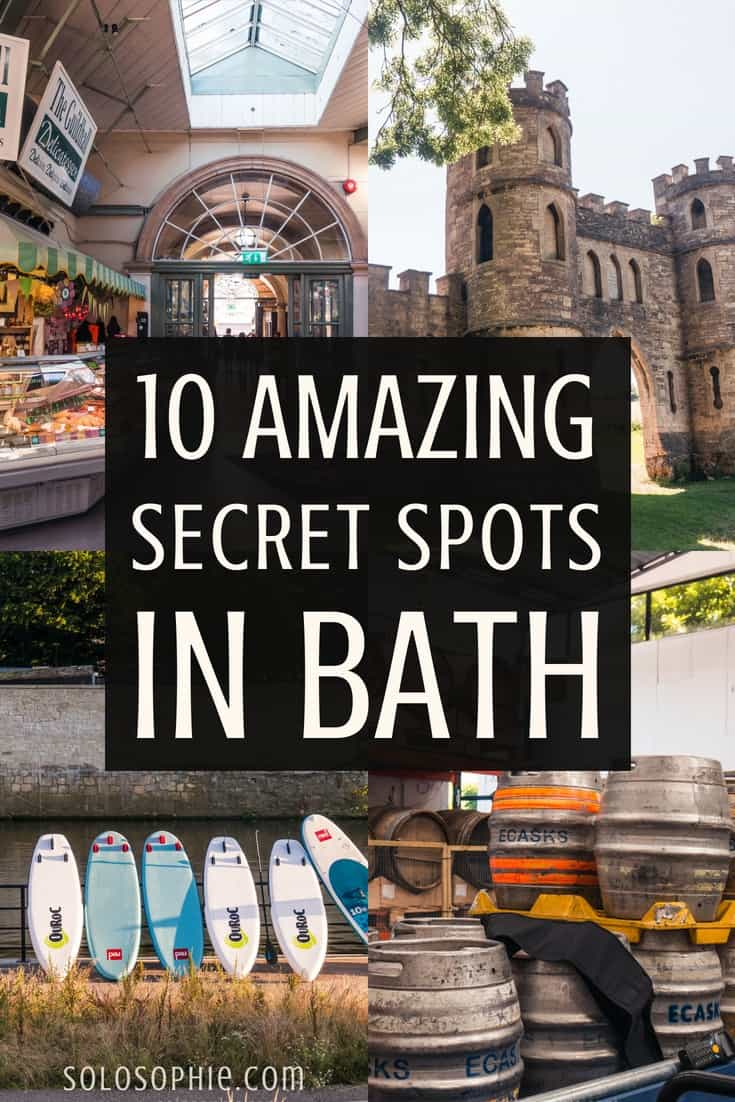 10 Quirky, Unusual, Unique & Secret Spots in Bath, South West England. Here's your complete guide to the best of hidden Bath; gardens to visit, activities to partake in, and even a castle to soak up some history!