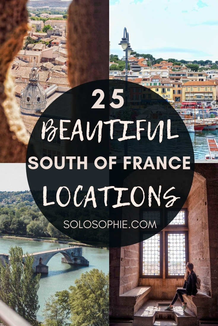 25 Sun Soaked Places in the South of France You'll Love! Looking for the most beautiful destinations and pretty locations in Southern France? Here's your guide to the best of Provence, the French Riviera, and Southern Occitanie