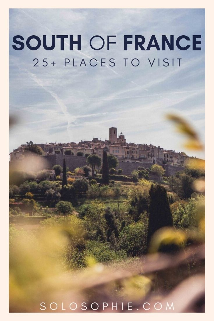 Looking for the best of Southern France? Here's your ultimate guide to the most beautiful cities and towns in the South of France Europe