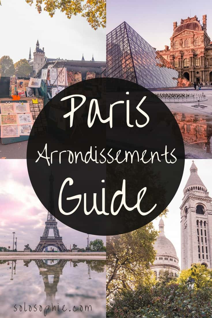 A guide to Parisian arrondissements: Here's your complete go-to guide on where to stay and visit in Paris. A break down of Paris district in France.