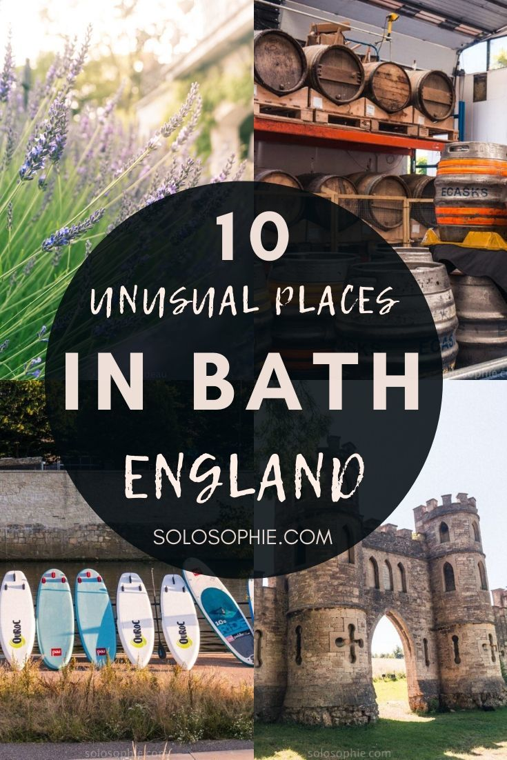 A quick guide to the best things to do in Bath England if you're looking for the most alternative Bath activities and unique things to see!