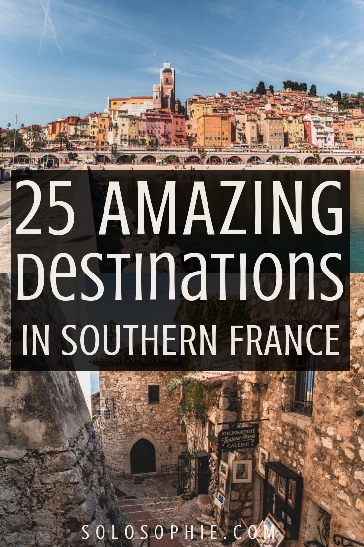 Looking for the most beautiful places to visit in the South of France? Here's your ultimate French guide to the best of hidden gems, unusual towns, and stunning cities to add to your bucket list.