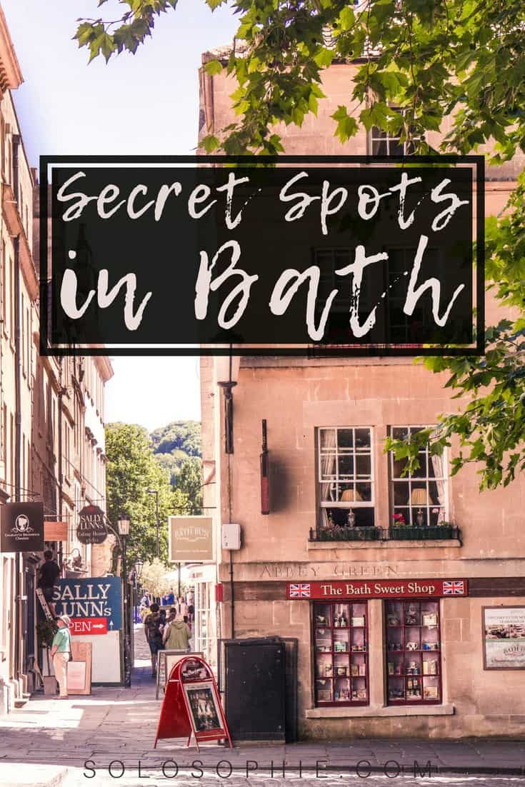 Quirky, Unusual, Unique & Secret Spots in Bath, England. Here are some hidden and beautiful places to visit in Bath, a historic city in the UK.