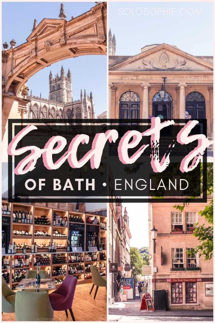 Secrets of Bath: Unique, Historical & Unusual Things to do in Bath, SouthWest England. Where you should stay, what you need to visit and best attractions in Bath!