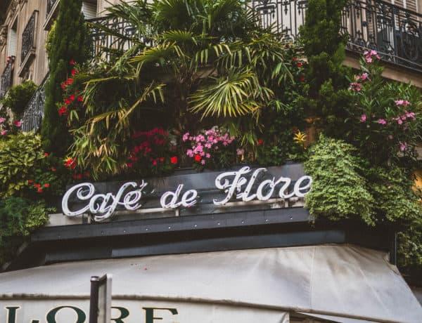 cafe de flore facade