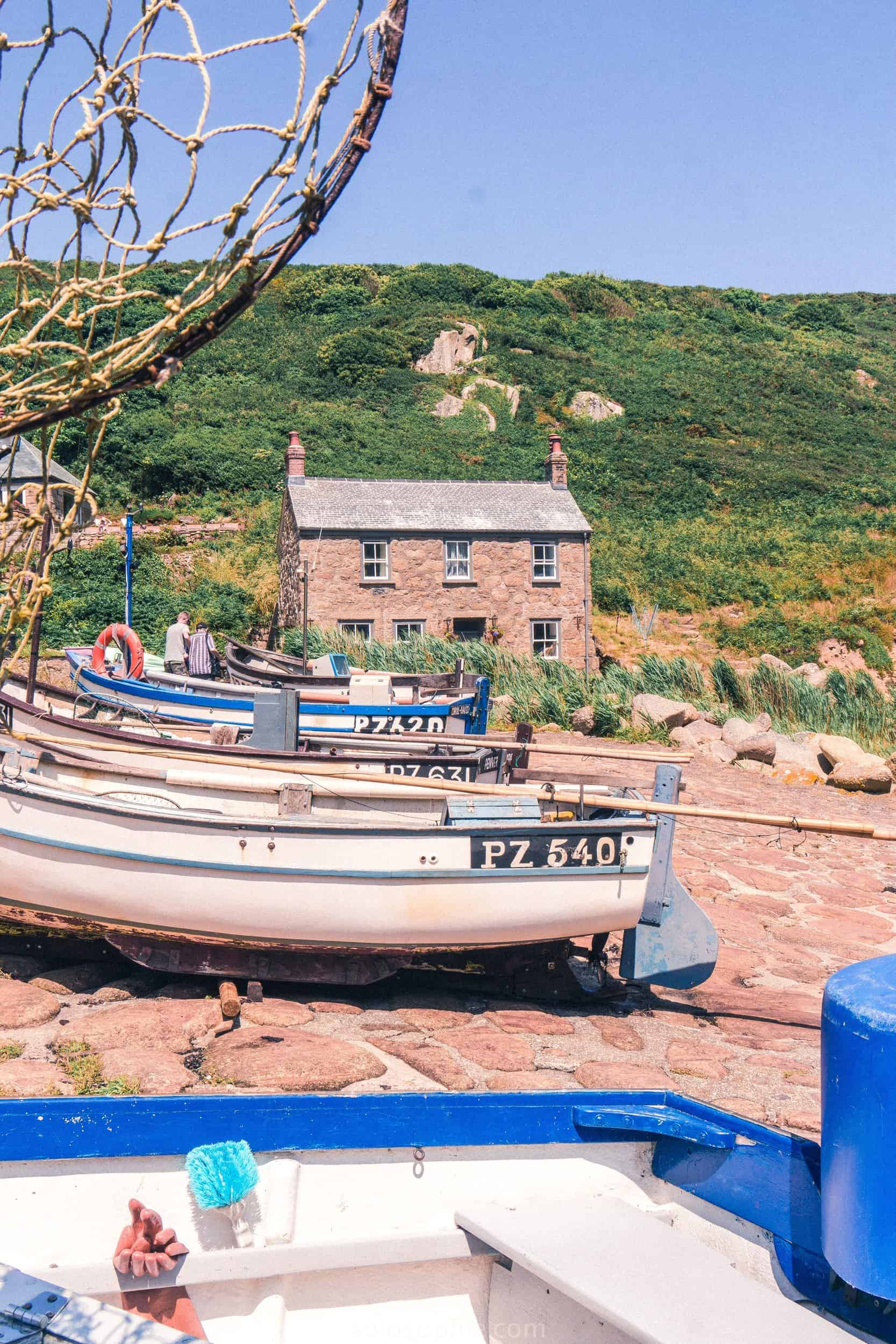 Penberth: A Taste of the Real, Authentic, and Historic Cornwall; one of the last surviving traditional fishing coves in Southern Cornwall, England