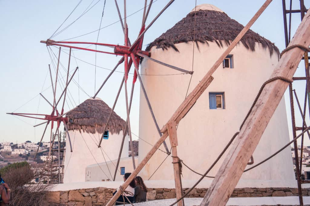 Mykonos Windmills: History, Little Venice & How to Visit! A quick guide to seeing some of the best things on the island of Mykonos, Cyclades, Greece