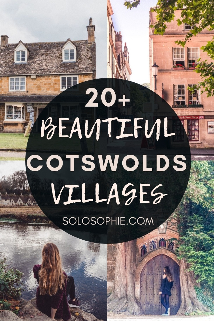 20+ beautiful Places in the Cotswolds You'll Love! Looking for the most beautiful destinations and pretty towns in the Cotswolds? Here's your guide to the best of the Cotswolds, England, UK
