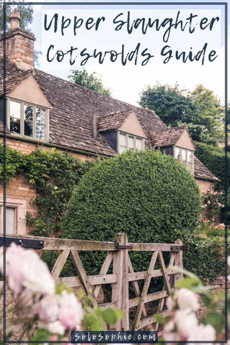 A Quick Guide to the best things to do in Upper Slaughter, a pretty and quaint village in Gloucestershire, the Cotswolds, England (almshouses by Lutyens, 12th-century church, etc) #cotswolds #england