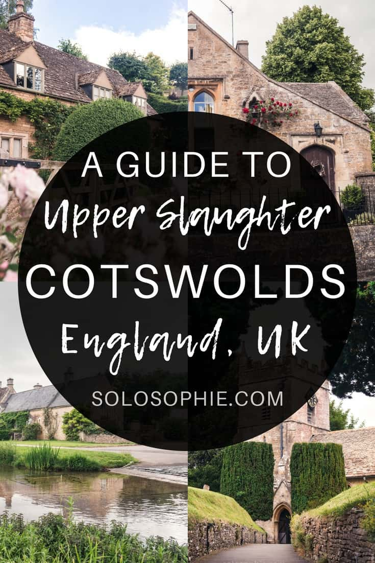 A Quick Guide to the best things to do in Upper Slaughter, a pretty and quaint village in Gloucestershire, the Cotswolds, England (almshouses by Lutyens, 12th-century church, etc)