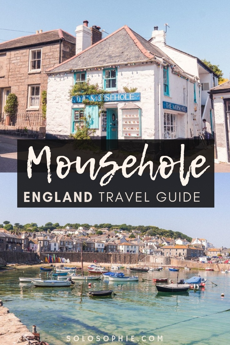 A guide to the best things to do in Mousehole, a picture perfect stunning fishing village in Southern Cornwall, South West England. Here's what to do, where to stay, and attractions in Mousehole