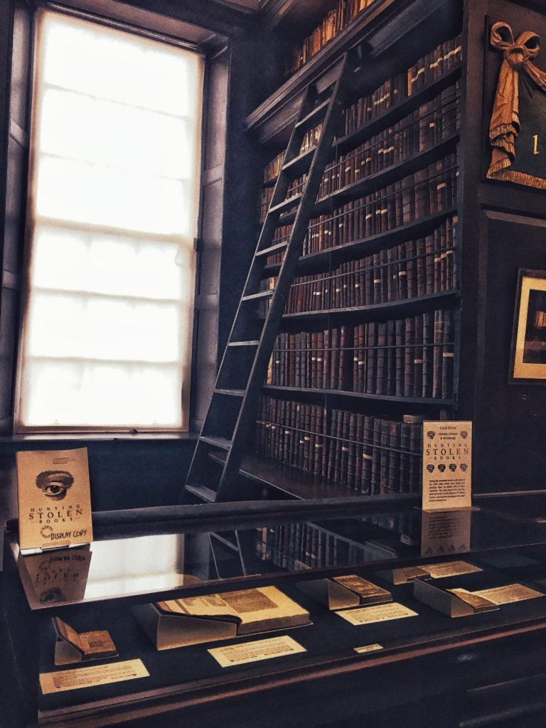 A Visit to Marsh's Library, The Prettiest & Oldest Public Library in Ireland
