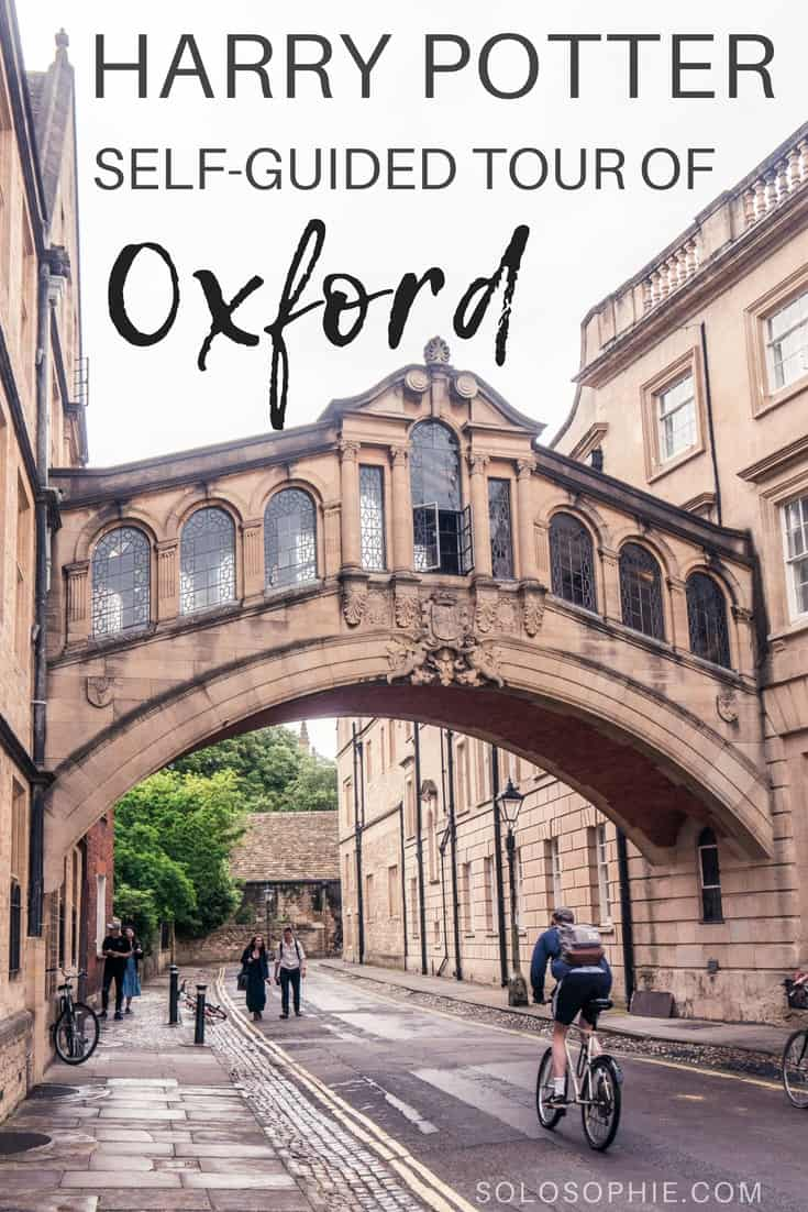 Free & self-Guided Tour to the Best of Harry Potter in Oxford: here are the very best filming locations in Oxford, England (Christ Church College, Bodleian Library, etc.)