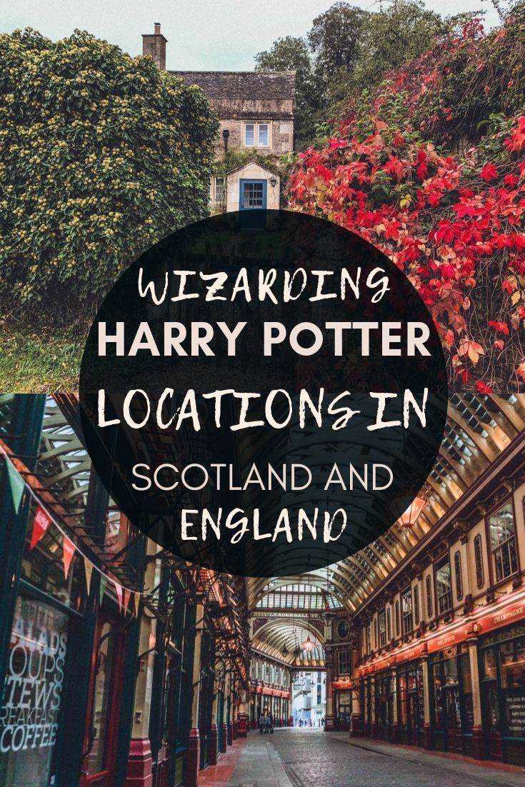The Complete Harry Potter UK Travel Guide For Muggles. Filming locations and wizarding inspiration for Harry Potter fans in England and Scotland