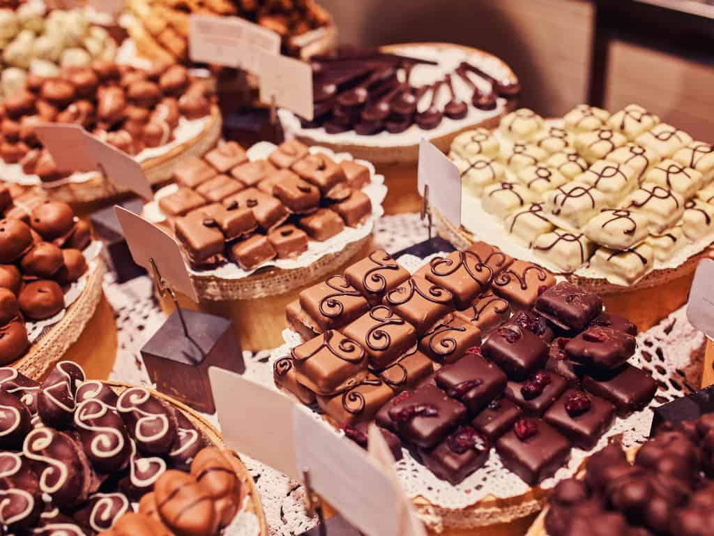 chocolate italy