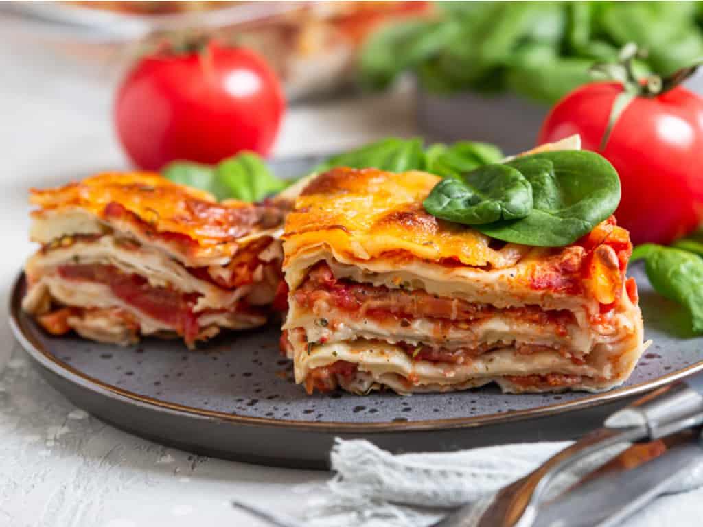 lasagne italy food