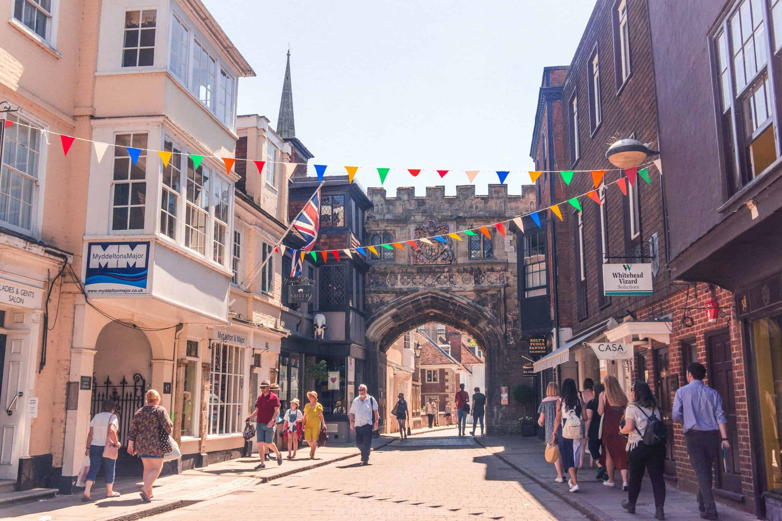 9 Wonderful Reasons to Visit Salisbury ASAP: The historic city of Salisbury, Wiltshire is a beautiful market city with an iconic cathedral, independent stores and timber-framed buildings. Here's why you should add it to you England bucket list!