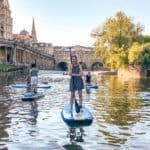 Stand Up Paddleboarding on the River Avon With Original Wild: A unique side to seeing Bath, England on the fastest growing adventure sports board in the UK