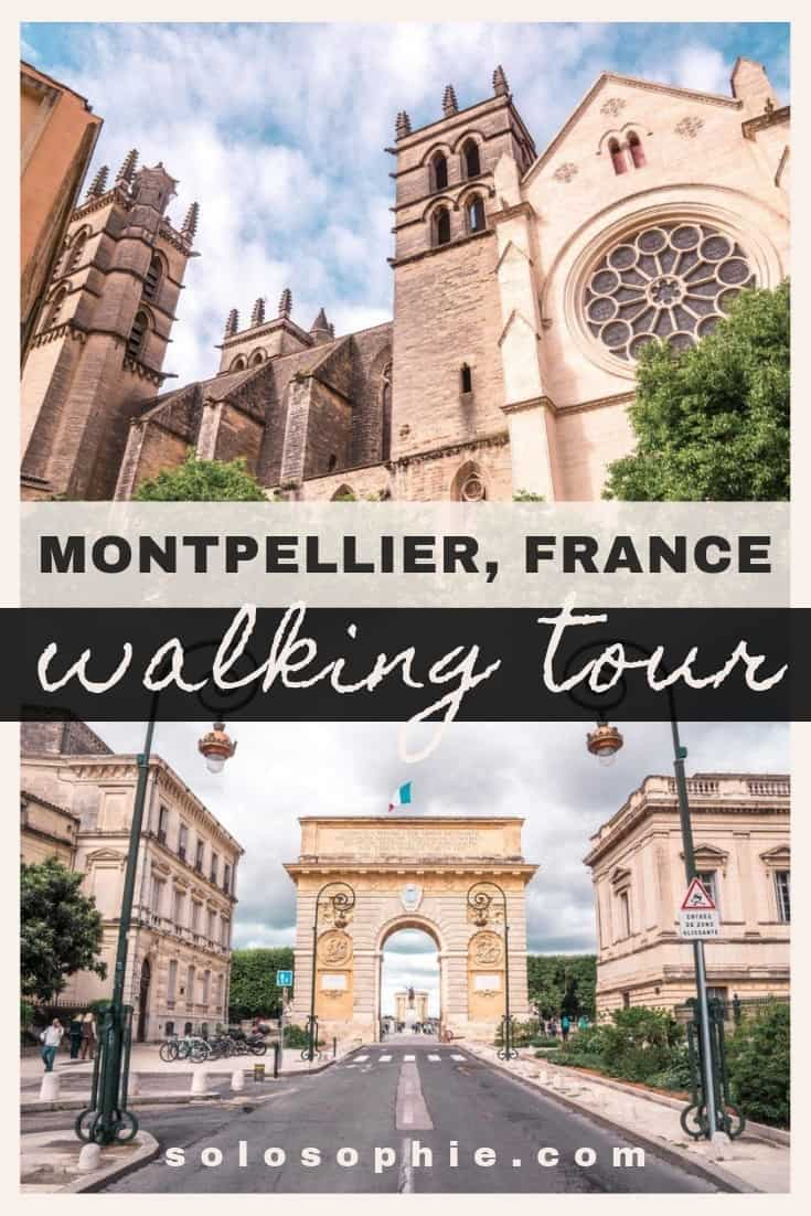 Free and self-guided Montpellier walking tour. Here's an itinerary for an easy guide to the best things to see and do in Montpellier, Southern France