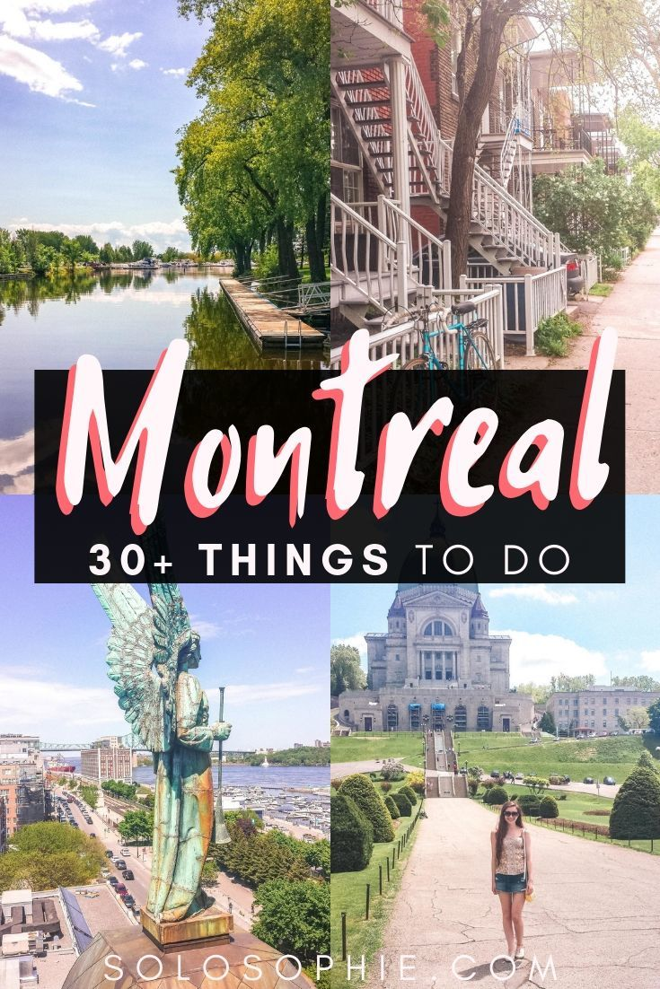 Looking for the very best things to do in Montreal? Here's your ultimate bucket list and guide to the top attractions in Montreal, Quebec, Canada