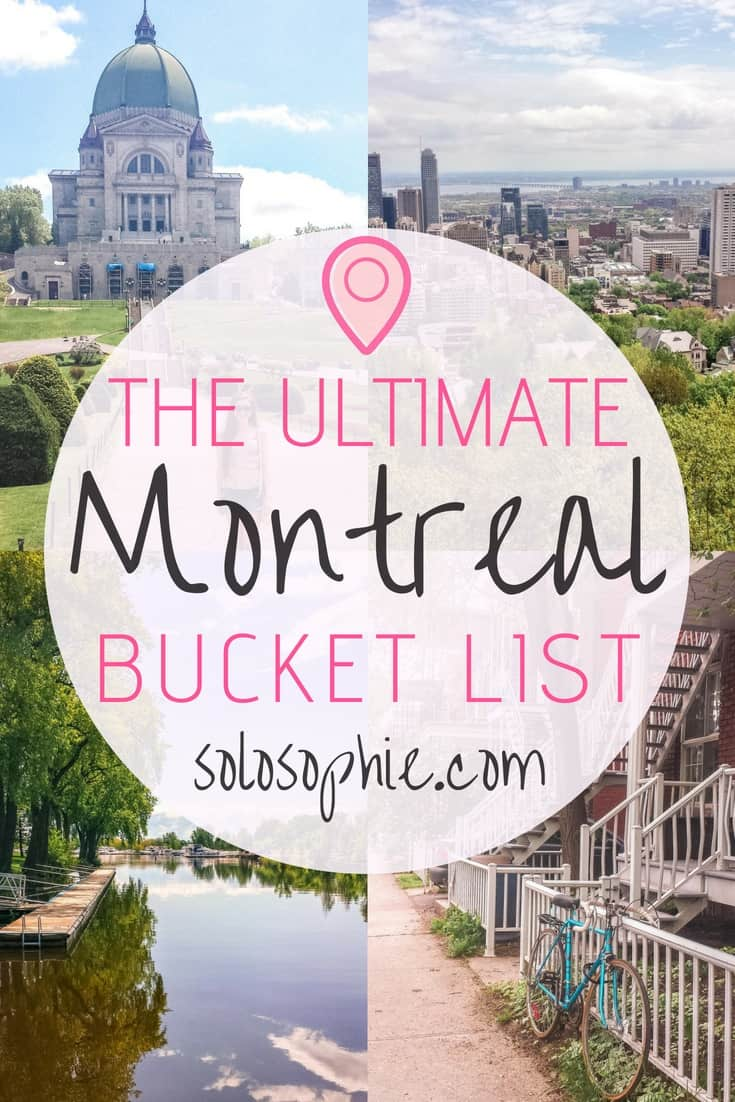 The ultimate Montreal bucket list. Here are some of the very best things to do in Montreal, Quebec, Canada. Best attractions to visit, day trips you must take, where to eat and what to buy!