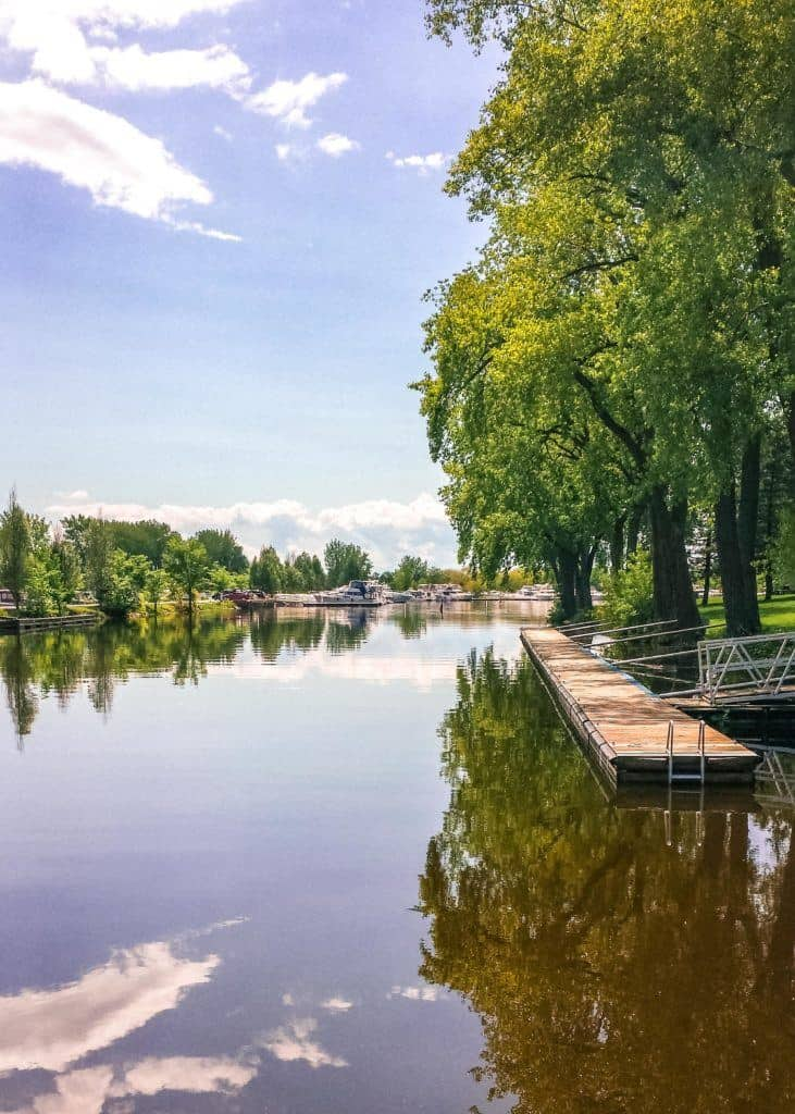 Canal Lachine, Montreal, Canada