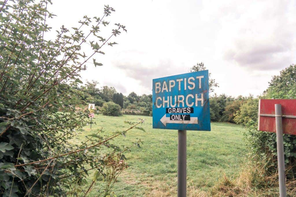 Baptist church, Imber, The Ghost Village of Salisbury Plain, Wiltshire, England: Visiting an abandoned village with a medieval church in the heart of England!