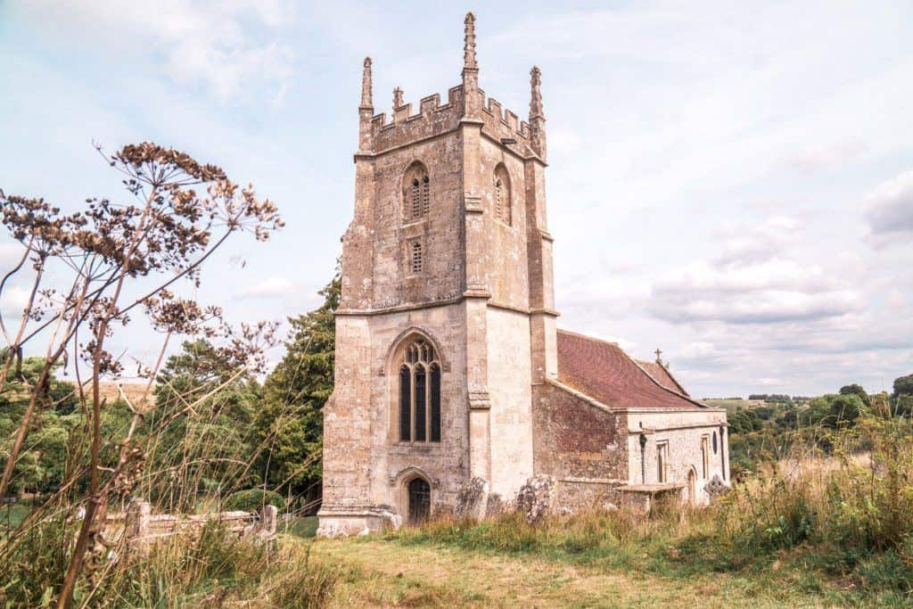 Imber, The Ghost Village of Salisbury Plain, Wiltshire, England: Visiting an abandoned village with a medieval church in the heart of England!