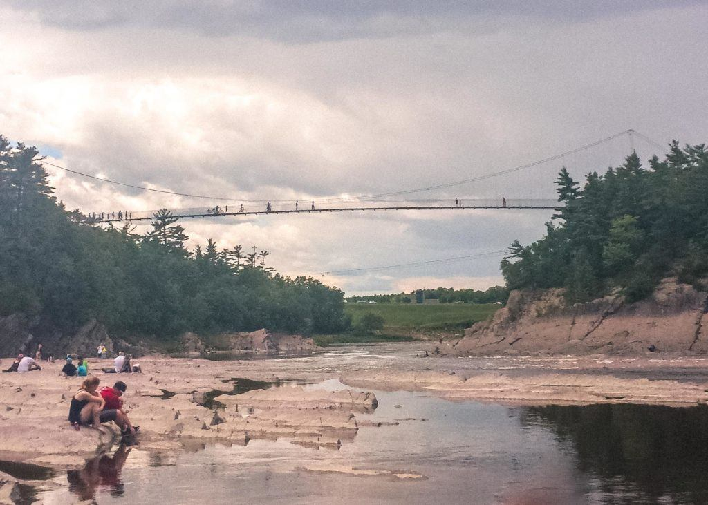 Montmorency Falls: An Easy Day Trip from Quebec City. Quebec, Canada