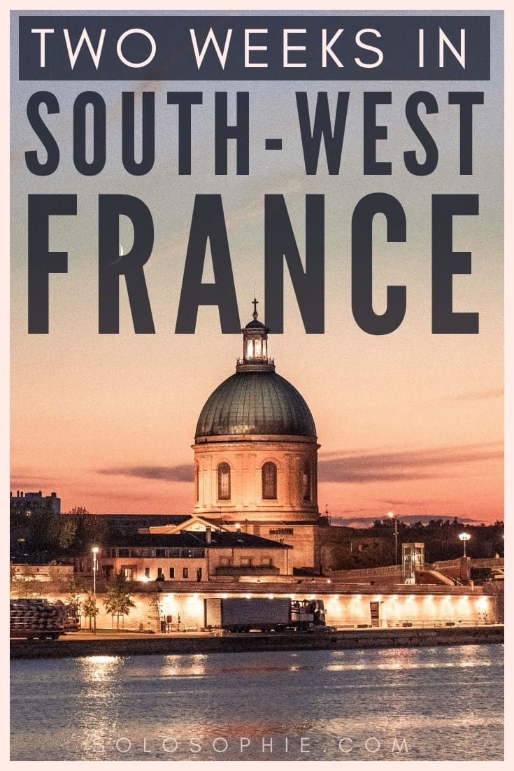 Here's how to spend 2 weeks in South West France. How to spend the perfect two weeks hours in Occitanie and Nouvelle Aquitaine, France. Where to stay, what to eat, what you must visit and the best places to see!
