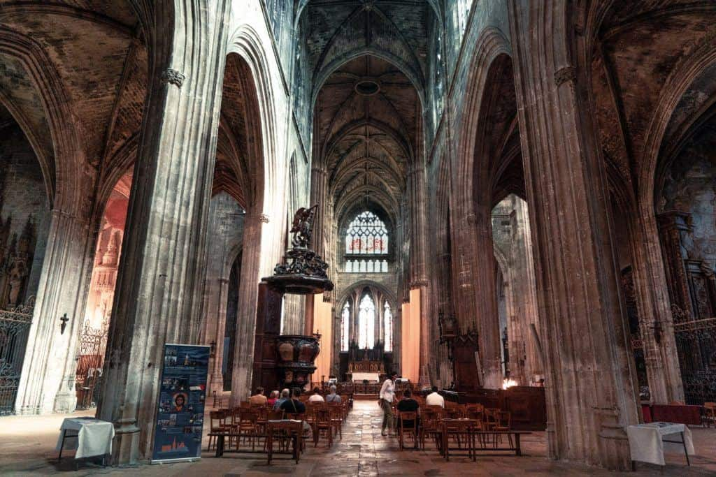 Basilique Saint Michel, Secret Spots in Bordeaux & A Complete Guide to the best of unusual, offbeat, and quirky things to do in Bordeaux, South West France