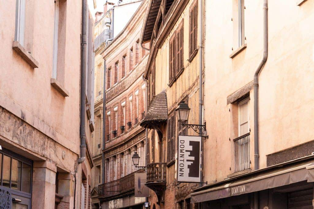 Rue Tripiere, Secret Spots in Toulouse & A Complete Guide to the best of unusual, offbeat, and quirky things to do in La Ville Rose (the pink city), capital of Occitanie, Toulouse, South West France