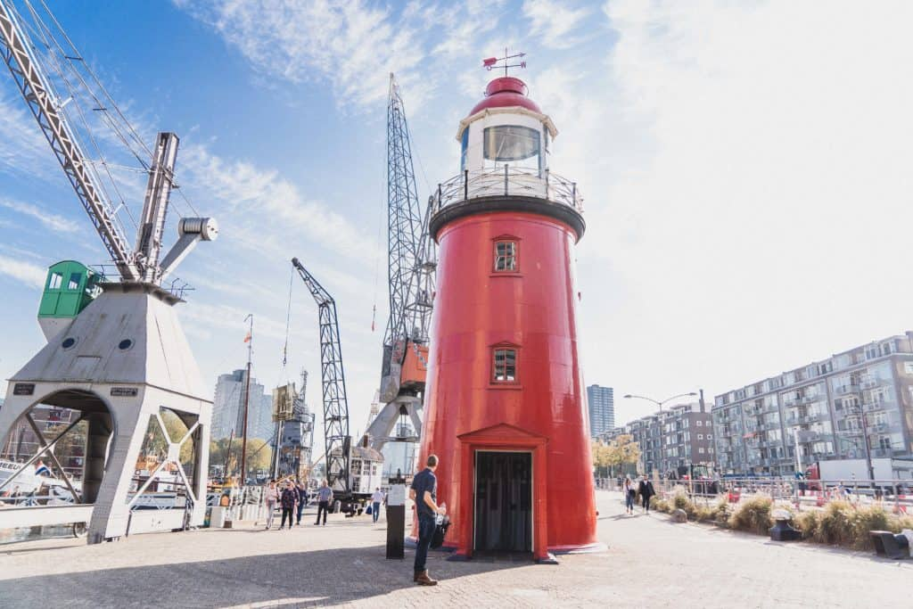 Free & Self-Guided Rotterdam Walking Tour, Holland, the Netherlands. How to spend one day in the Dutch city of Rotterdam! (Cube Houses, Markthal, Oude Haven, etc)