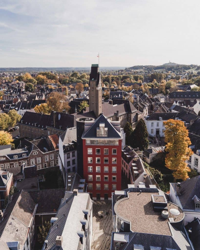 Where to Find the Best View in Maastricht, Limburg, The Netherlands