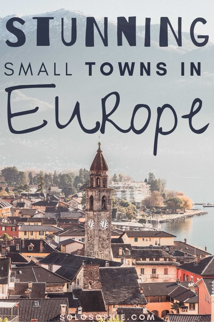 Charming and stunning small towns in Europe you need to add to your European bucket list ASAP. Here's the best of Europe; Ascona, Fowey, La Ciotat, etc