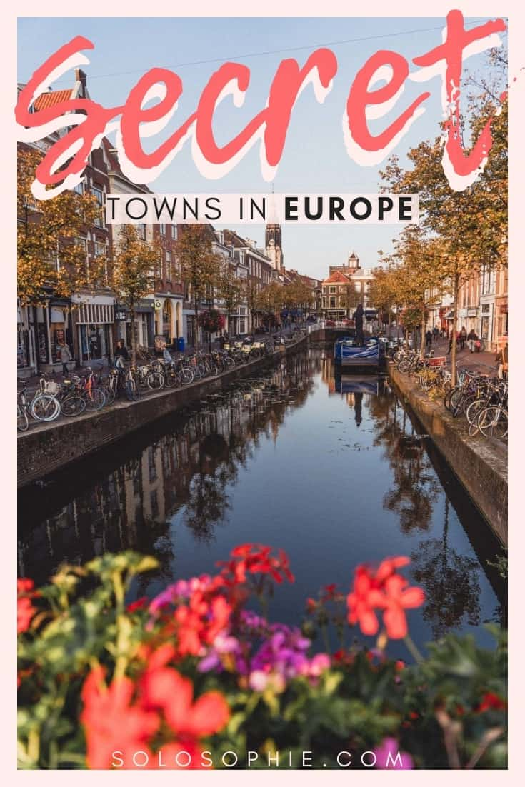 Charming small towns in Europe you must visit when travelling! Here's your guide to the best of tiny towns; Selis, La Ciotat, Echternach, etc