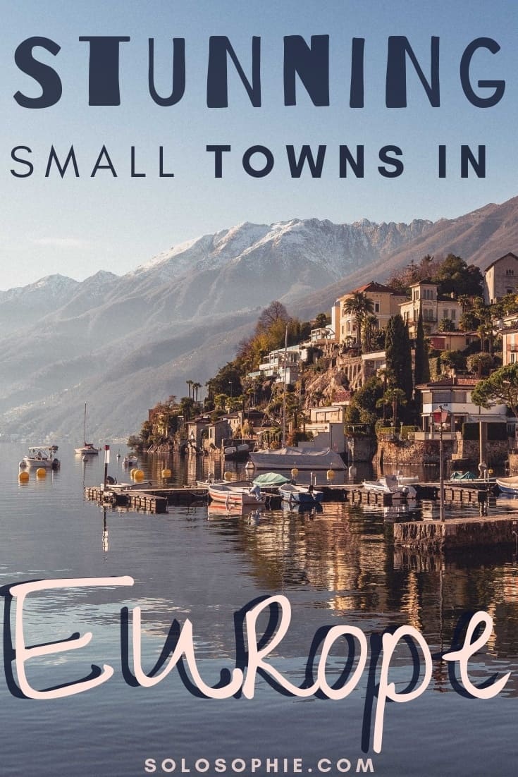 Small town travel in Europe. Here's your ultimate guide to the best offbeat European destinations and non tourist towns in Europe to visit this year!