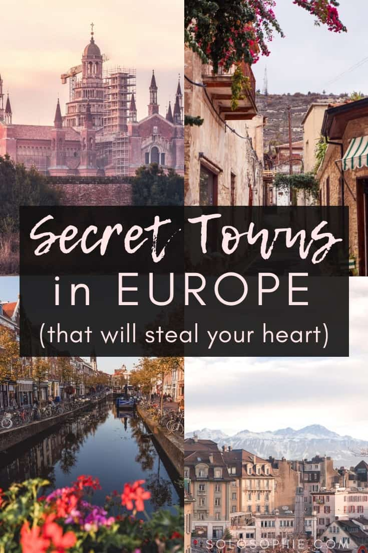 The Best of Breathtakingly Beautiful secret small towns in Europe. Do you love hidden gems and searching for off the beaten path locations and destinations? Here are some of the best places to go in Europe!