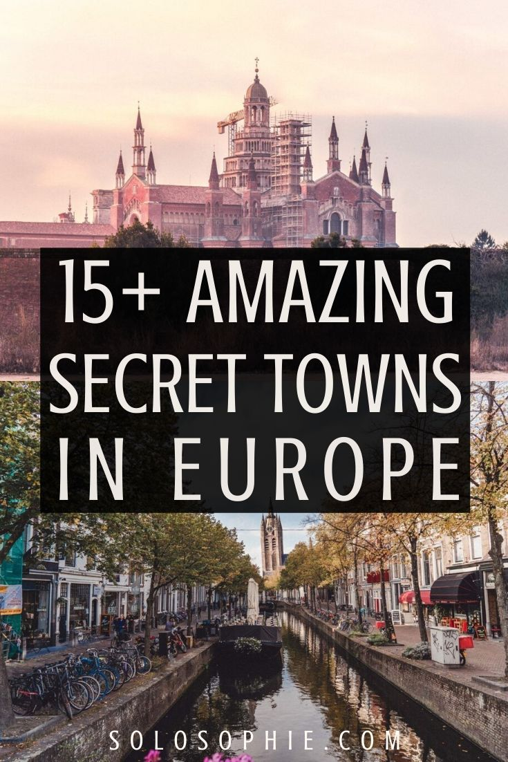 beautiful places to travel europe. Secret towns you won't want to miss on any Europe adventure!