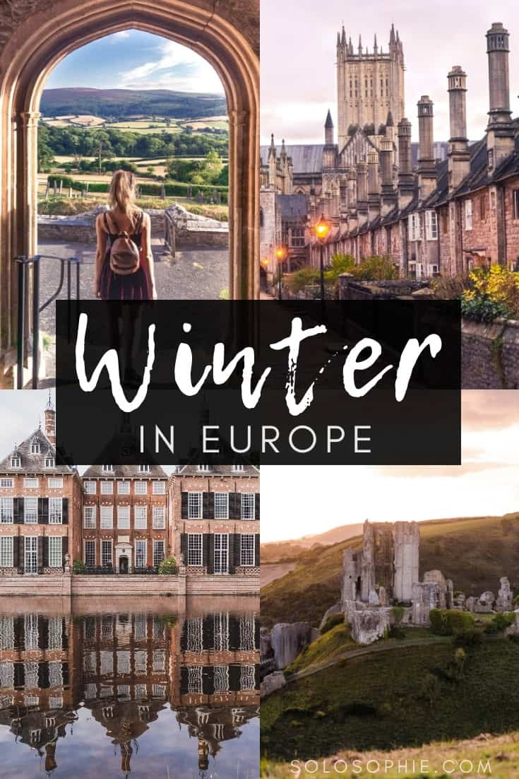 The 11 best winter destinations in Europe. Which cities to visit in the late months of the year. Where to see Christmas markets in Europe and which festivals to attend! Cities include Paris, Lausanne, Turin, and The Hague.
