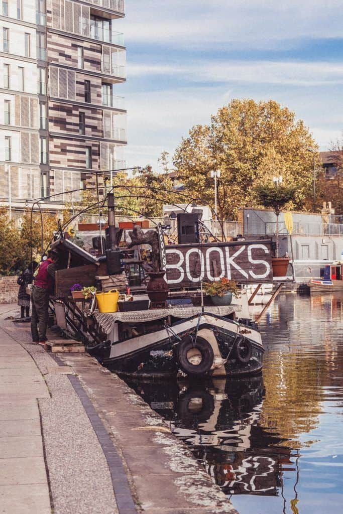 Word on the Water: A Unique Bookbarge Bookshop in London