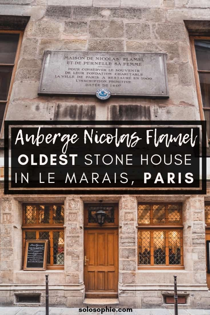 Auberge Nicolas Flamel: Alchemy & A Historic House in Le Marais, Paris, France. Here's what it's like to visit the oldest stone building in the French capital (that's now a fine dining restaurant)