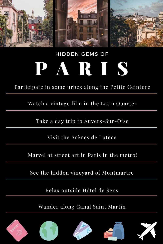 Best of Paris/ Offbeat Paris Destinations: 60+ Unusual Things to do in Paris