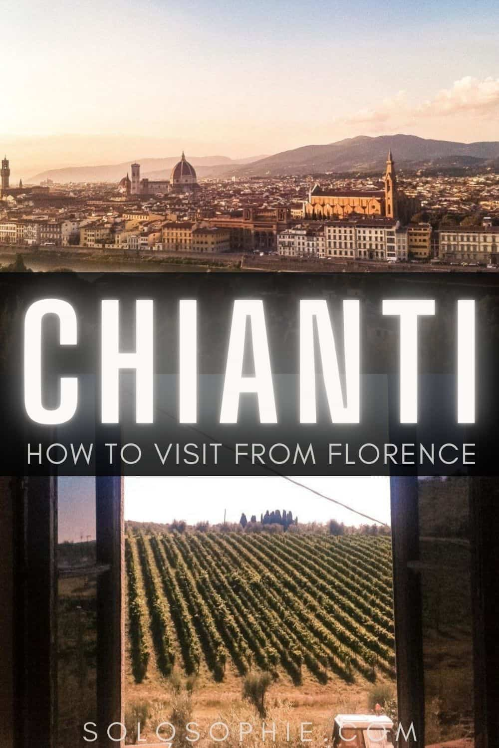 Chianti Italy guide: How to visit Chianti as a day trip frolm Florence Italy