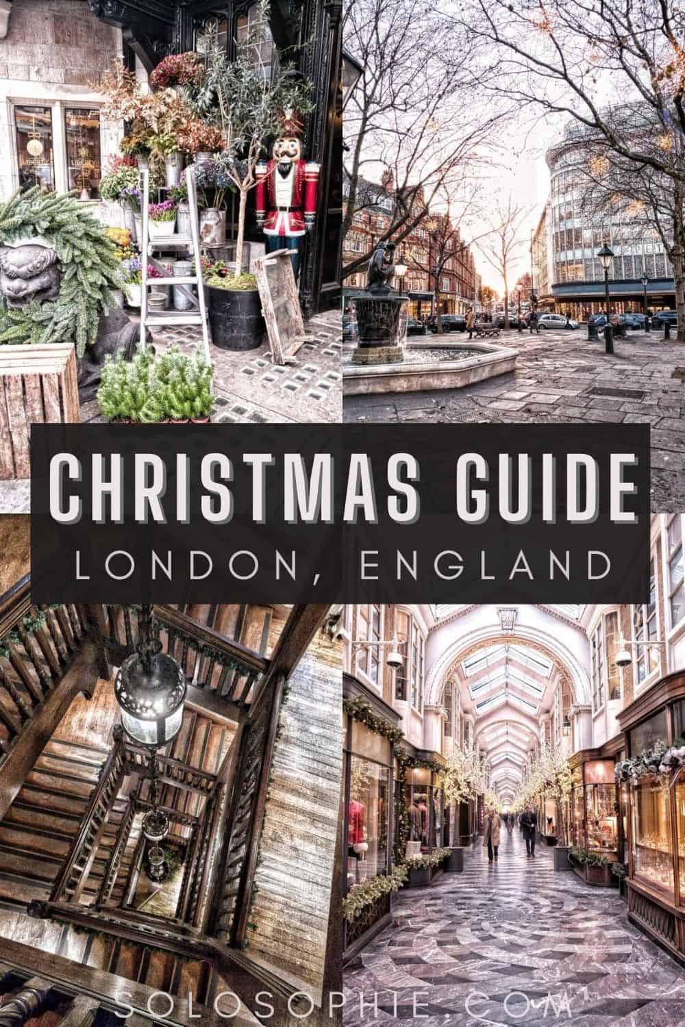England London Christmas/ Festive London: Christmas Things to do in London You'll Love
