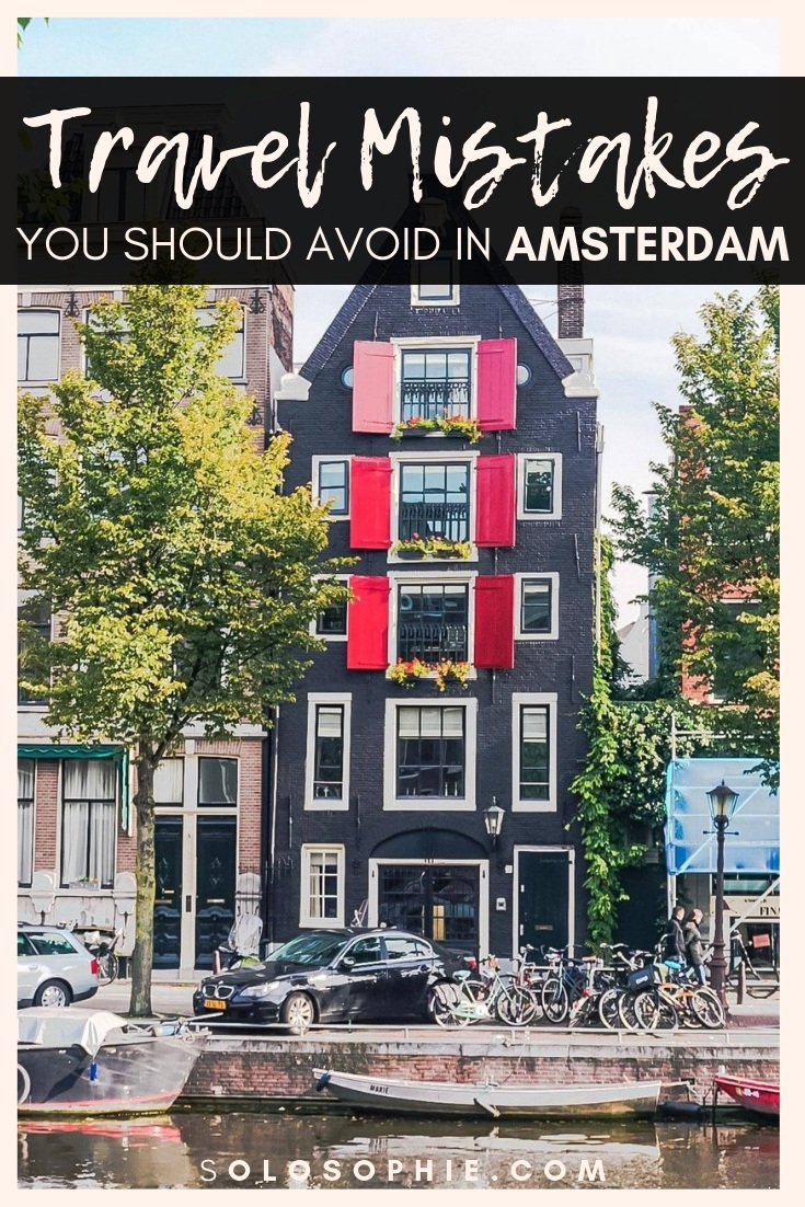 Here are 15+ insanely useful Amsterdam travel tips you must know before your first visit to the Dutch capital of the Netherlands (money saving hacks, tricks and practical advice on where to go, what to visit, where to stay, and more!)